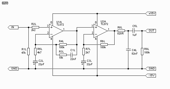 Cranial cavity also Mixer Pre Mic 3 Channel By Lm348 additionally 220v Ac L  Touch Dimmer as well Techpage besides Simple Jfet Pre  For An Idevice Guitar Interface. on transistor guitar pre schematic