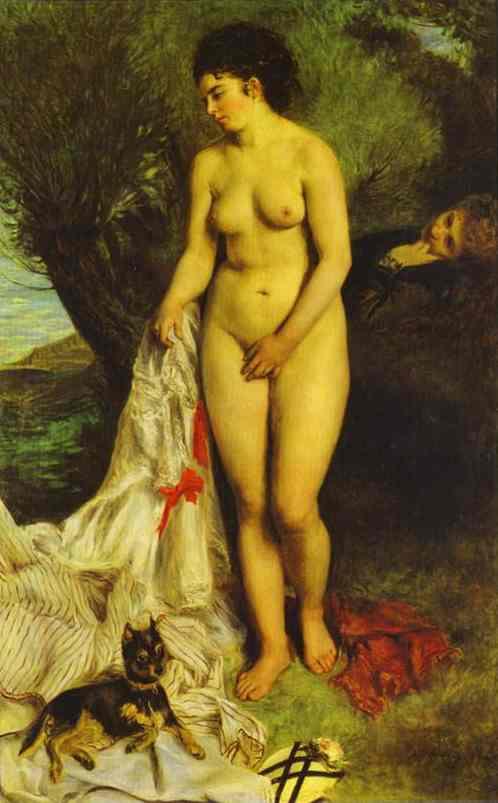 르누아르의 목욕하는 여인들
