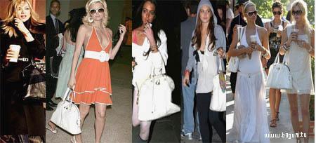 할리웃 스타들의 가방 패션